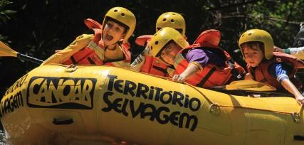 Mini Rafting Território Selvagem
