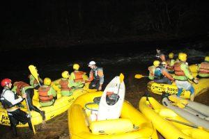 Rafting Noturno Território Selvagem