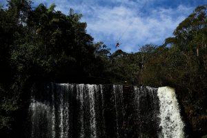 Tirolesa Voo das Cachoeiras Território Selvagem Canoar